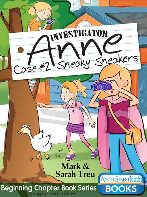 Investigator Anne - Case #2 Sneaky Sneakers
