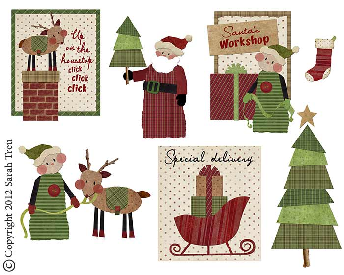 Folk Whimsy Christmas