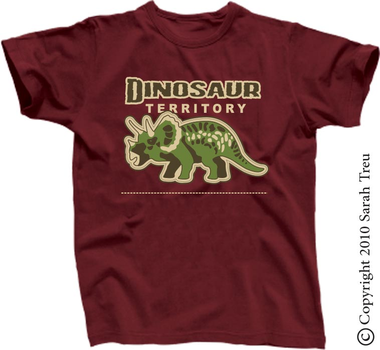 Dinosaur-themed Childrens T-Shirts