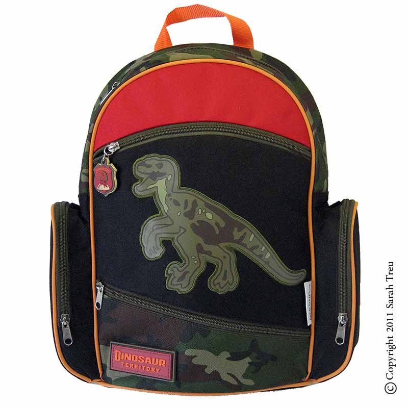 Dinosaur Backpack and Lunchbox