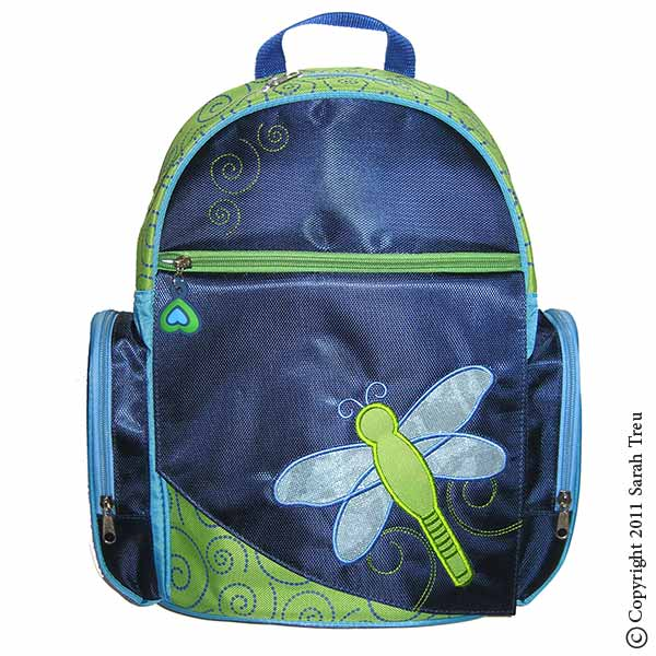 Dragonfly Backpack and Lunchbox