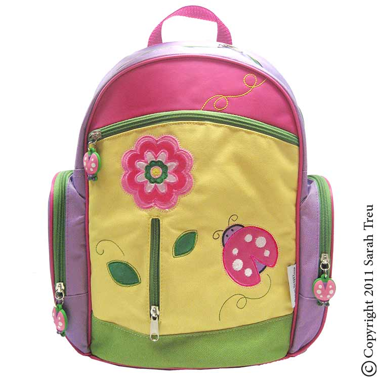 Spring Garden Backpack and Lunchbox