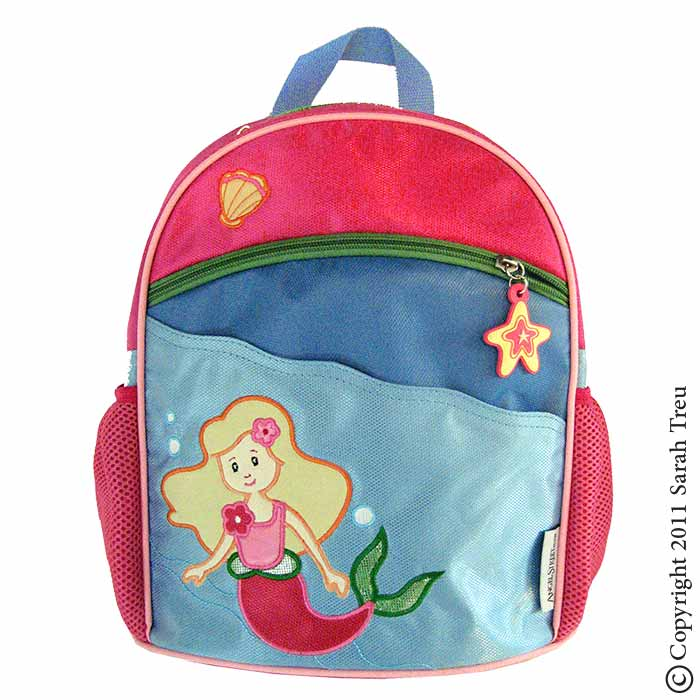 Mermaid Toddler Backpack and Lunchbox