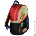 Little Monster Toddler Backpack and Lunchbox