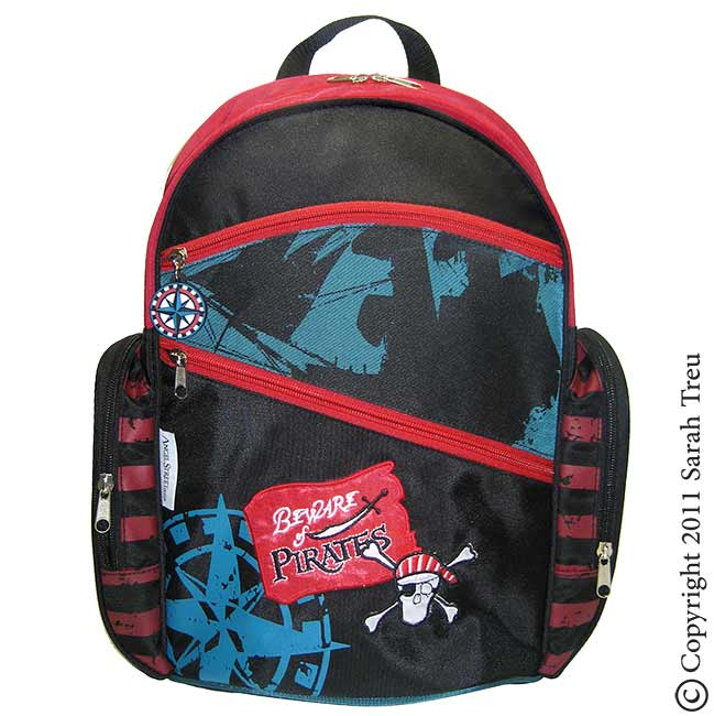 Pirate Backpack and Lunchbox