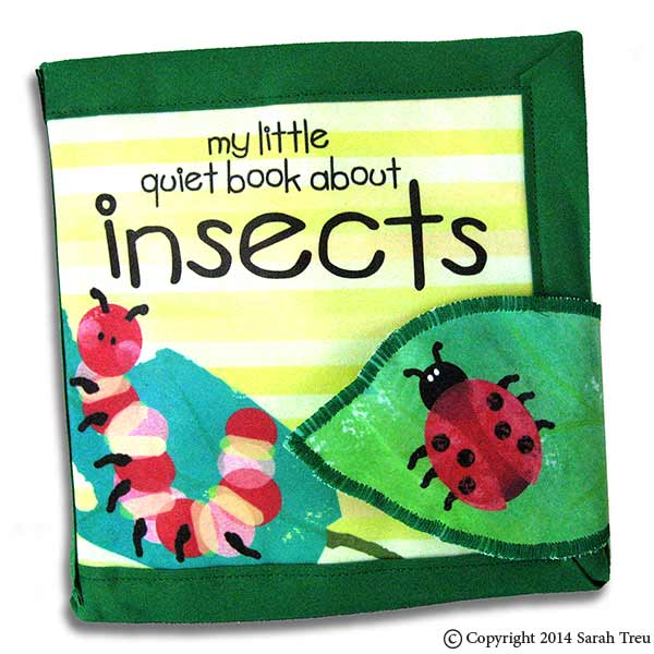 Insects Quiet Book