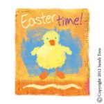 Painterly Easter Art
