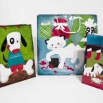 Pet-Themed Christmas Gift Bags