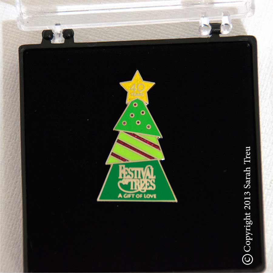 Primary Childrens Hospital Festival of Trees Pins