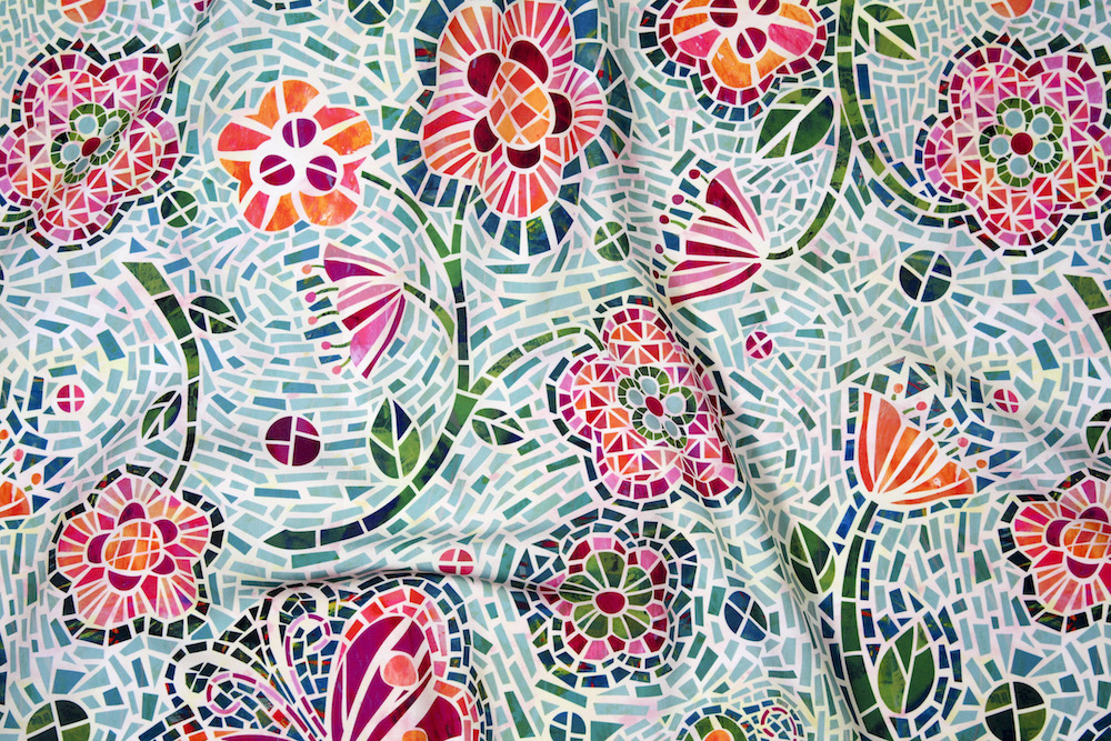 Mosaic Fabric Collection
