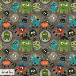 Little Monsters Fabric